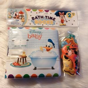 NEW Disney Baby Bath Time Book